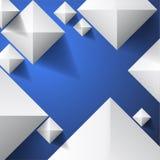 Blå bakgrundsabstrakt begreppillustration royaltyfri illustrationer