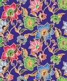 Blå batik Royaltyfri Foto
