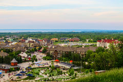 Blå bergby, Ontario Kanada Arkivfoton