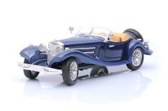 blå biltoy Royaltyfri Bild