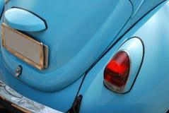 blå biltysktappning Royaltyfria Bilder