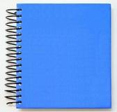 Blå blank bok Arkivfoto