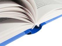 blå bok arkivfoto