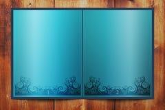 blå bok vektor illustrationer