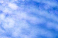 blå bokeh abstrakt bakgrund Royaltyfria Bilder