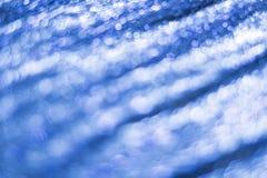 blå bokeh abstrakt bakgrund Arkivfoton