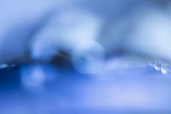 blå bokeh abstrakt bakgrund Arkivfoto