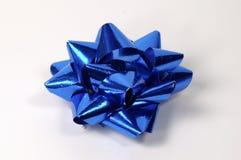 blå bow Arkivfoton