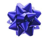 blå bow Royaltyfri Bild