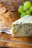blå brödost släntrar Arkivfoto
