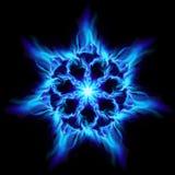 blå brandblomma vektor illustrationer