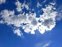 blå briljant sky Royaltyfria Bilder