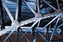 blå bro cleveland Fotografering för Bildbyråer