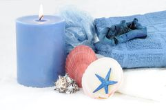 blå brunnsort Royaltyfri Fotografi