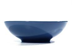 blå bunke Royaltyfria Bilder