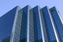 blå byggnad royaltyfri bild