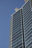 blå byggnadskontorssky Royaltyfria Bilder