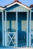 blå cabina Fotografering för Bildbyråer
