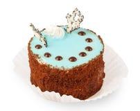 blå cakekräm Royaltyfri Foto