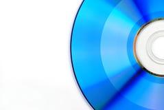 blå cd Royaltyfri Bild