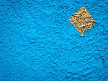 Blå cementtextur Royaltyfri Foto