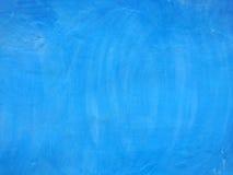 Blå cementtextur Arkivbild