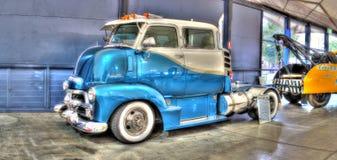 Blå Chevy lastbil Royaltyfri Bild