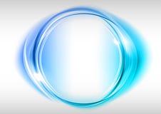 blå cirkel Royaltyfria Foton