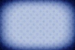Blå cirkelbakgrundsillustration Royaltyfri Fotografi
