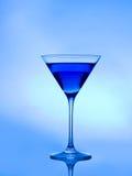 blå coctail Arkivbilder