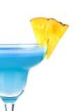 blå coctailananas för alkohol Royaltyfria Bilder