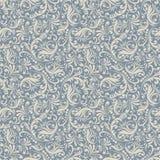 blå damastast seamless stil för bakgrund Arkivbild