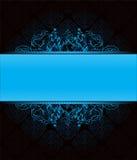 blå dark för bakgrund Arkivbilder
