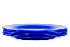 blå dark plates white sex Royaltyfria Bilder