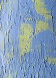 Blå dekorativ murbruk som en bakgrund Fotografering för Bildbyråer