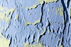 Blå dekorativ murbruk som en bakgrund Royaltyfri Bild