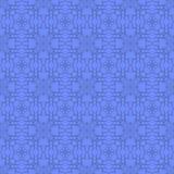 Blå dekorativ sömlös linje modell Arkivfoton