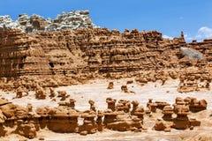 Blå delstatspark Utah för dal för bergolycksbringareelakt troll Royaltyfria Foton