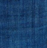 blå denimjeanstextur Bakgrund Abstrakt textilmodell Modernt utforma Arkivfoto