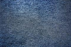 blå denimtextur Arkivbild