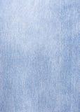 blå denimtextur Arkivbilder