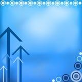 blå design för bakgrund Arkivfoton