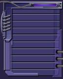 blå design för bakgrund Arkivfoto