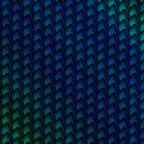 blå diagonal grön modell Stock Illustrationer