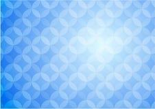 Blå diagramabstrakt begreppbakgrund Royaltyfria Bilder