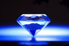 blå diamant Royaltyfri Foto
