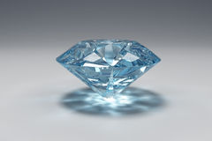 blå diamant vektor illustrationer