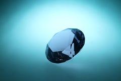 Blå diamant Royaltyfria Foton