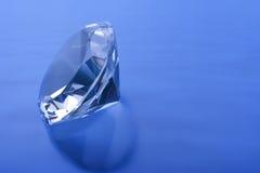 blå diamant Arkivbild