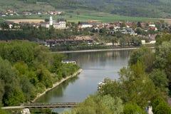 blå Donau Royaltyfria Foton